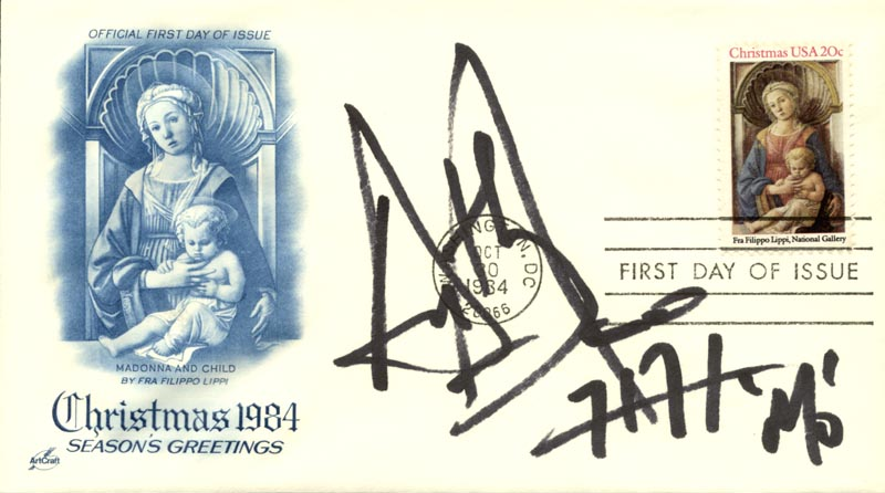 Image 1 for Anthony Azizi - First Day Cover Signed - HFSID 267514