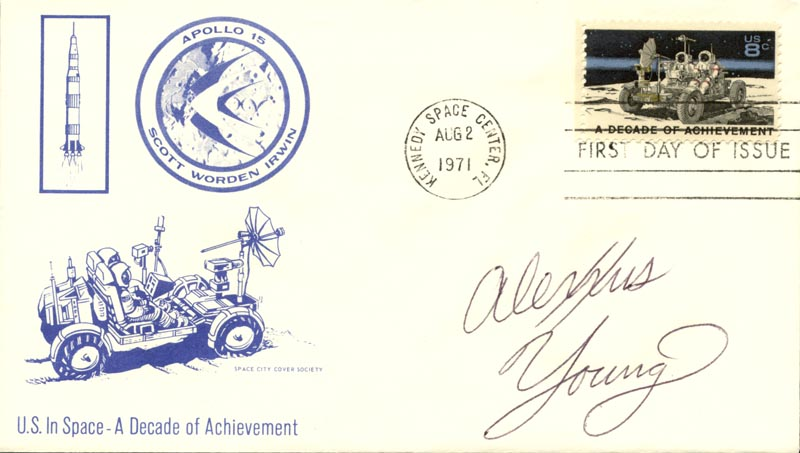 Image 1 for Alexxus Young - First Day Cover Signed - HFSID 267523