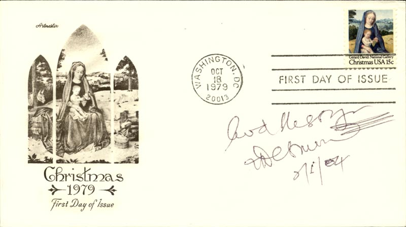 Image 1 for Bishop Desmond Tutu - First Day Cover With Autograph Sentiment Signed 02/05/2004 - HFSID 267558