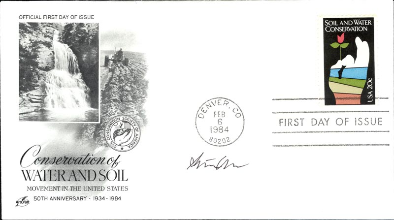 Image 1 for Steven Chu - First Day Cover Signed - HFSID 267769