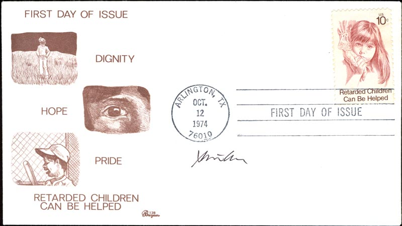 Image 1 for Steven Chu - First Day Cover Signed - HFSID 267771