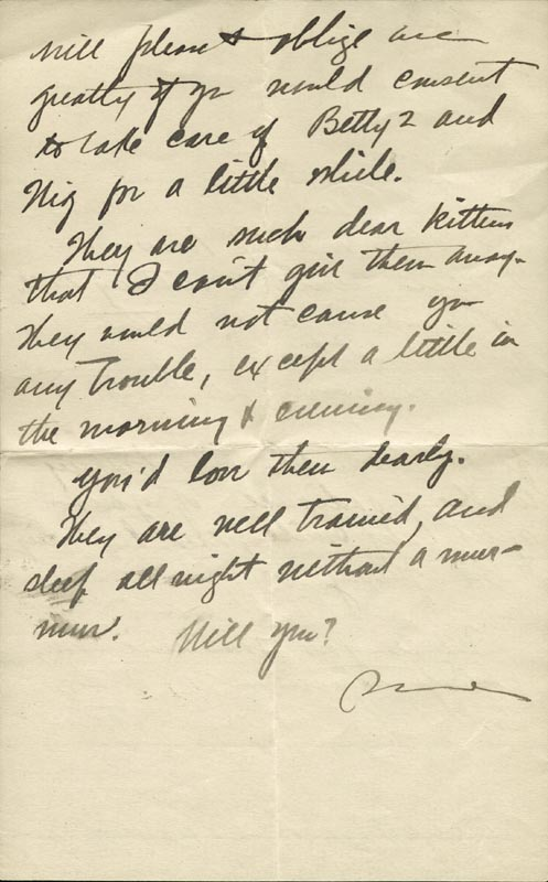 Image 1 for Zane Grey - Autograph Letter Signed Circa 1905 - HFSID 268155