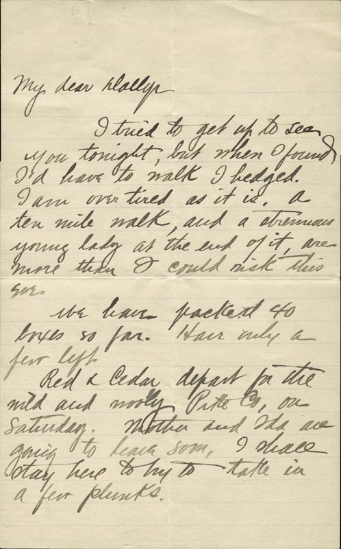 Image 3 for Zane Grey - Autograph Letter Signed Circa 1905 - HFSID 268155