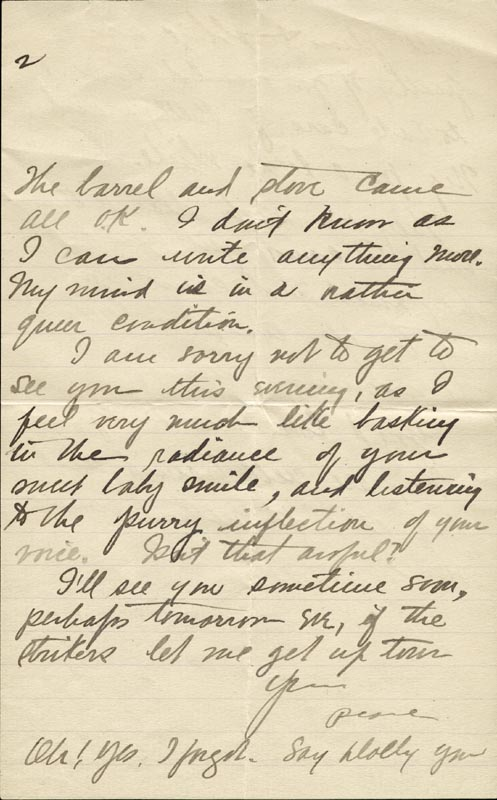 Image 4 for Zane Grey - Autograph Letter Signed Circa 1905 - HFSID 268155