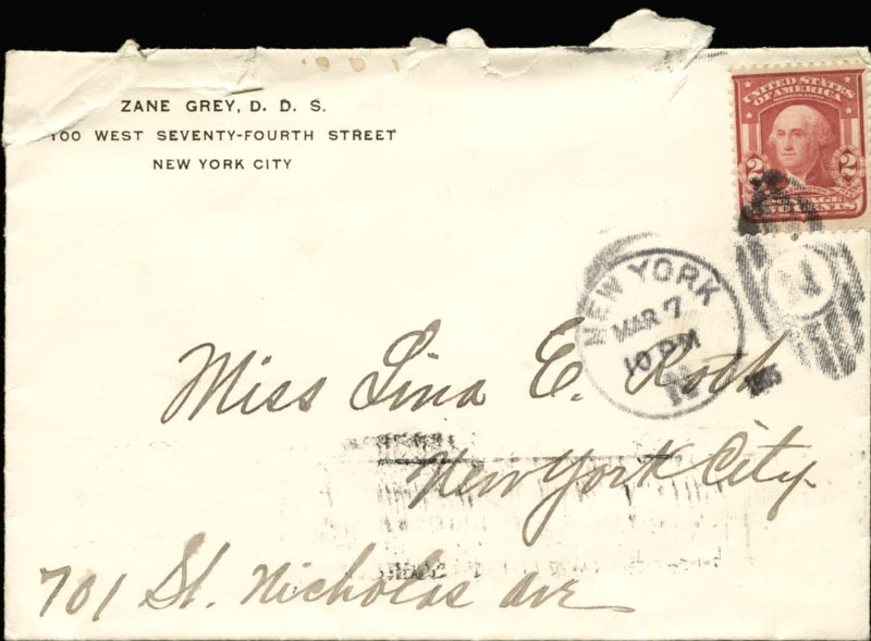 Image 5 for Zane Grey - Autograph Letter Signed Circa 1905 - HFSID 268155
