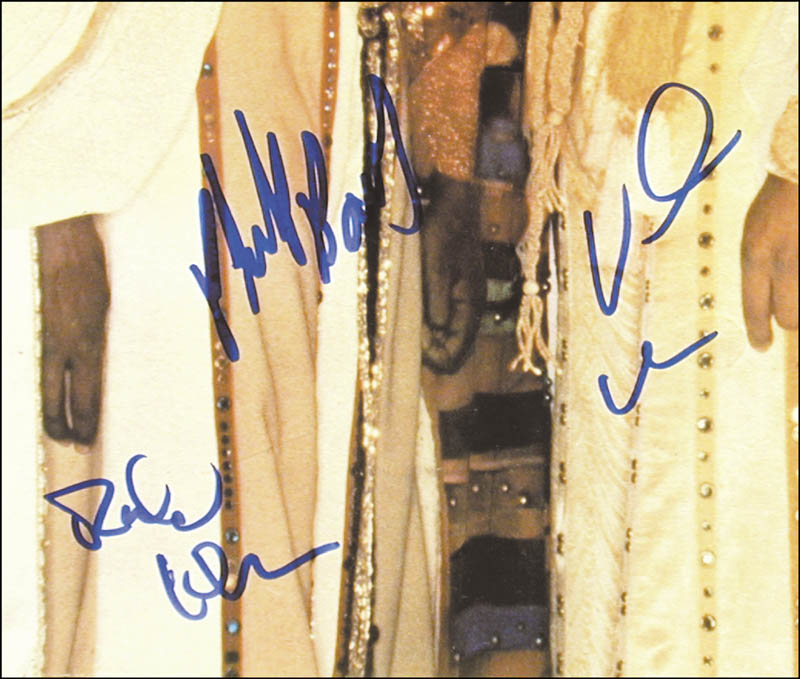 Image 1 for Earth, Wind And Fire - Autographed Signed Poster with co-signers - HFSID 268450
