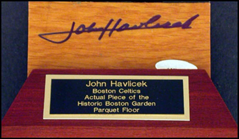 Image 1 for John Havlicek - Ephemera Signed - HFSID 268522