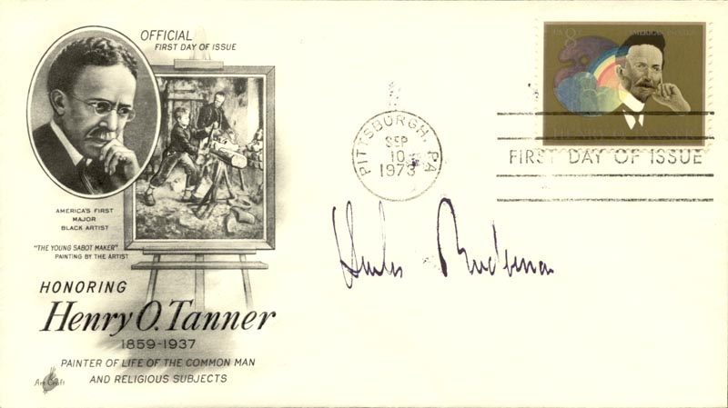 Image 1 for Charles Biederman - First Day Cover Signed - HFSID 268603