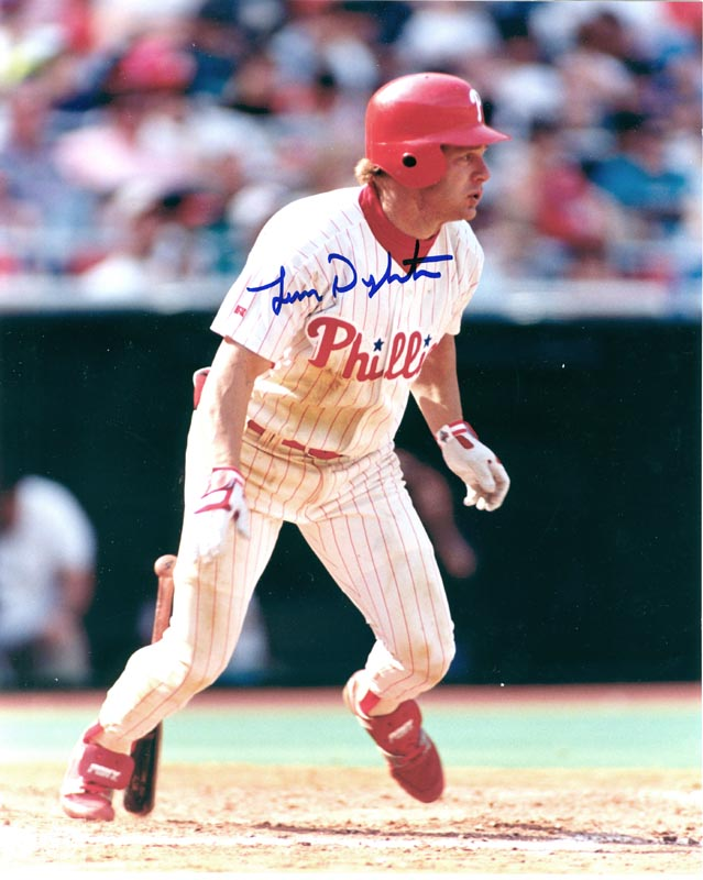 e06827b25be LENNY DYKSTRA - PHOTOGRAPH SIGNED - HFSID 268747
