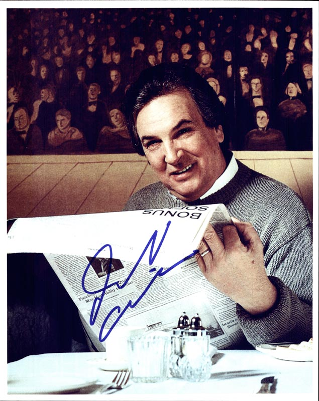 Image 1 for Danny Aiello - Autographed Signed Photograph - HFSID 268806