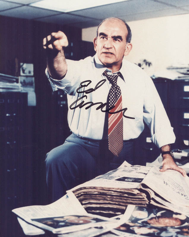 Image 1 for Ed Asner - Autographed Signed Photograph - HFSID 268810