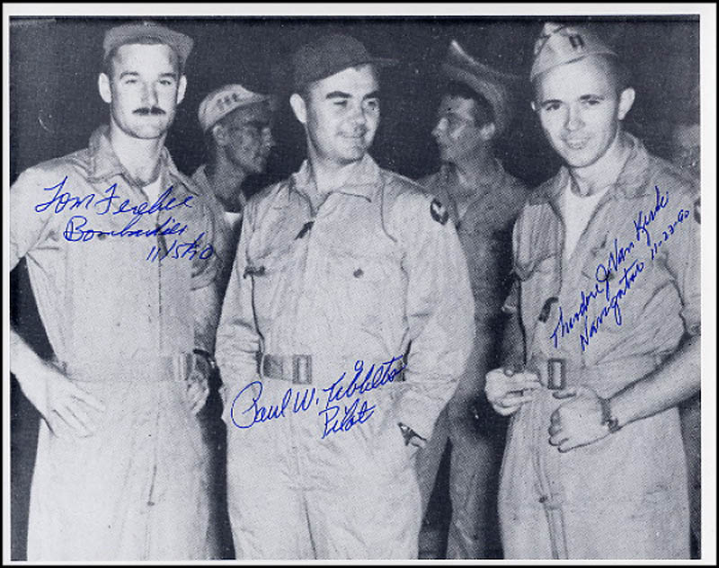 Image 1 for Enola Gay Crew - Autographed Signed Photograph 11/05/1990 with co-signers - HFSID 269016