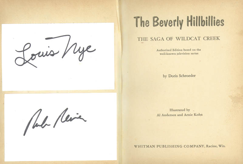 Image 4 for Beverly Hillbillies TV Cast - Autograph Circa 1963 with co-signers - HFSID 269064