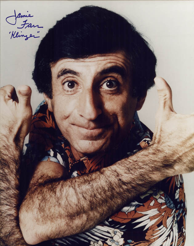 Image 1 for Jamie Farr - Autographed Signed Photograph - HFSID 269069