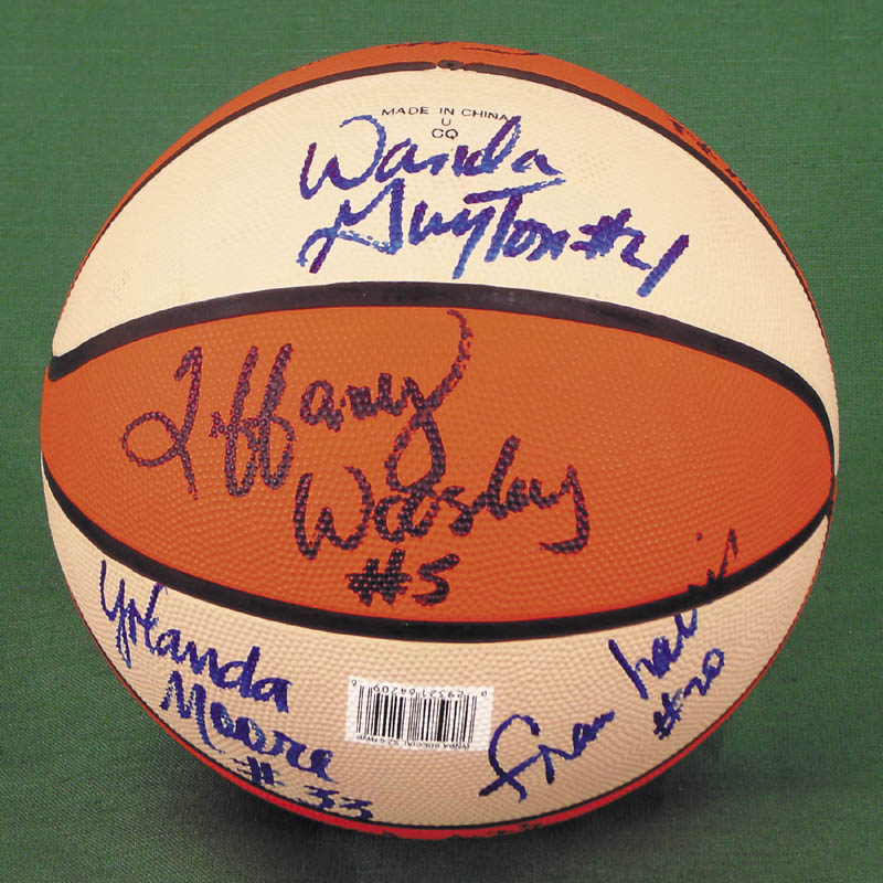 Image 3 for Houston Comets (Wnba) - Basketball Signed Circa 1997 with co-signers - HFSID 269131