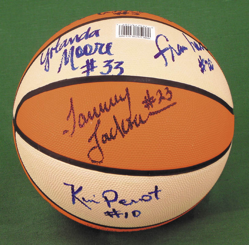 Image 5 for Houston Comets (Wnba) - Basketball Signed Circa 1997 with co-signers - HFSID 269131