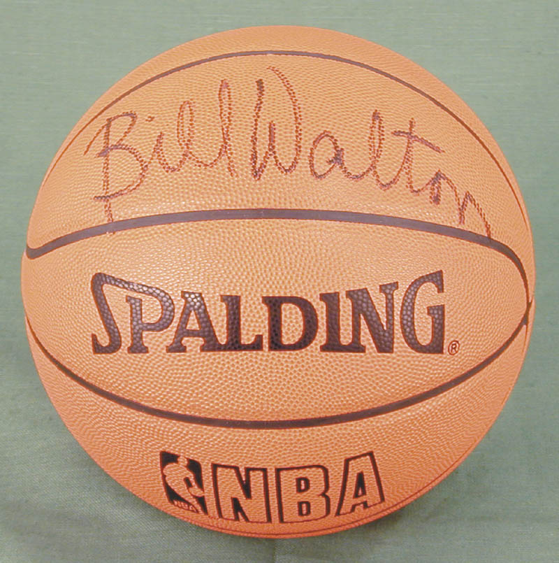 Image 1 for Bill Walton - Basketball Signed - HFSID 269133