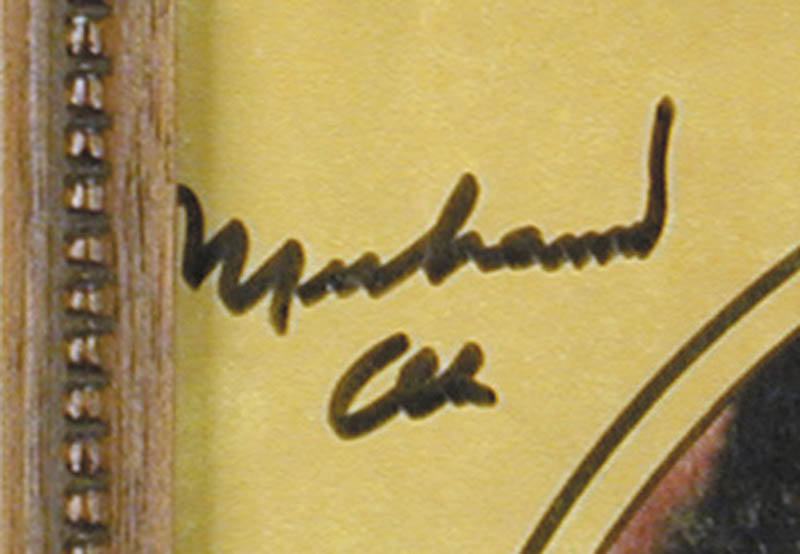 Image 3 for Muhammad 'The Greatest' Ali - Program Cover Signed - HFSID 269137