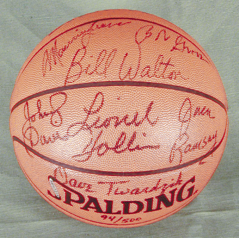 Image 1 for The Portland Trail Blazers - Basketball Signed Circa 1977 with co-signers - HFSID 269142