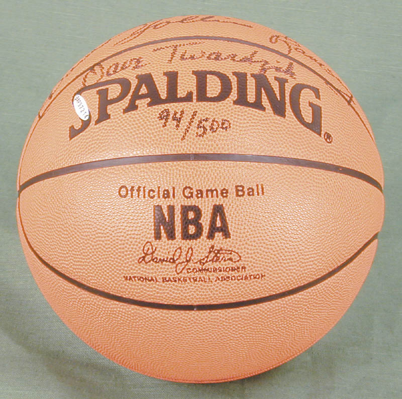 Image 3 for The Portland Trail Blazers - Basketball Signed Circa 1977 with co-signers - HFSID 269142