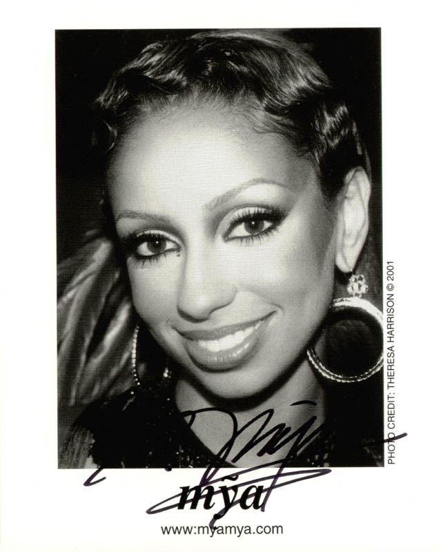 Image 1 for Mya - Autographed Signed Photograph - HFSID 269250