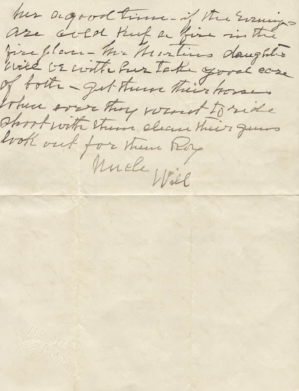 Image 1 for William F. 'Buffalo Bill' Cody - Autograph Letter Signed 08/10 - HFSID 269330