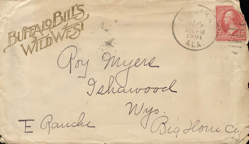 Image 8 for William F. 'Buffalo Bill' Cody - Autograph Letter Signed 08/10 - HFSID 269330