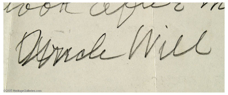 Image 4 for William F. 'Buffalo Bill' Cody - Autograph Letter Signed 08/08 - HFSID 269332