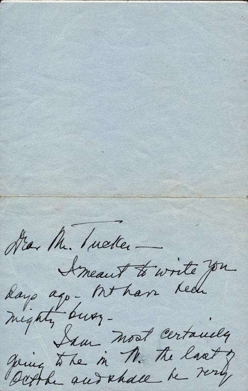 Image 3 for First Lady Bess W. Truman - Autograph Letter Signed Circa 1945 - HFSID 269475
