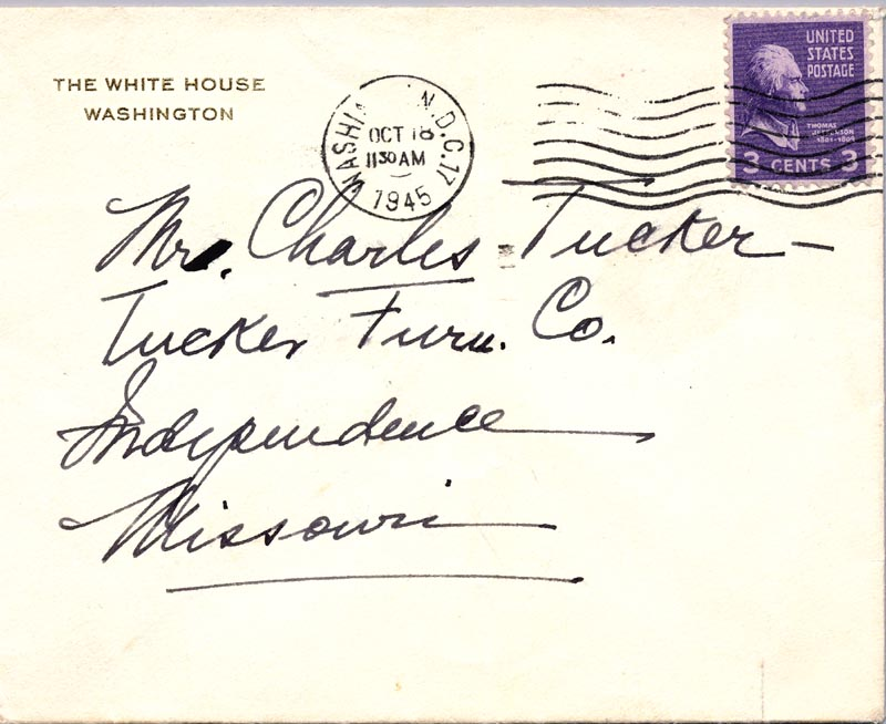 Image 4 for First Lady Bess W. Truman - Autograph Letter Signed Circa 1945 - HFSID 269475