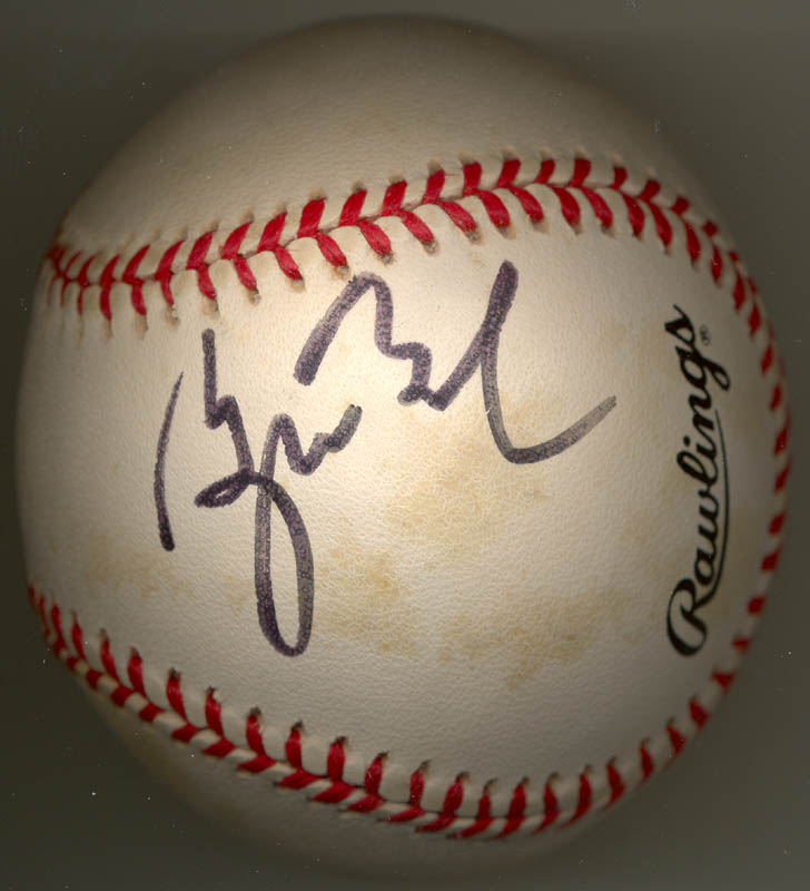 Image 1 for President George W. Bush - Autographed Signed Baseball - HFSID 269489