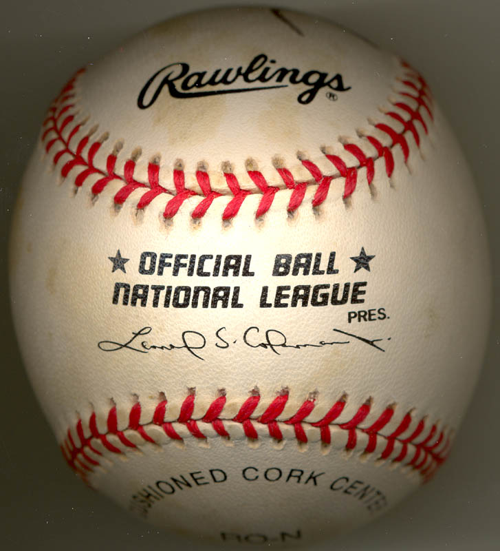 Image 3 for President George W. Bush - Autographed Signed Baseball - HFSID 269489
