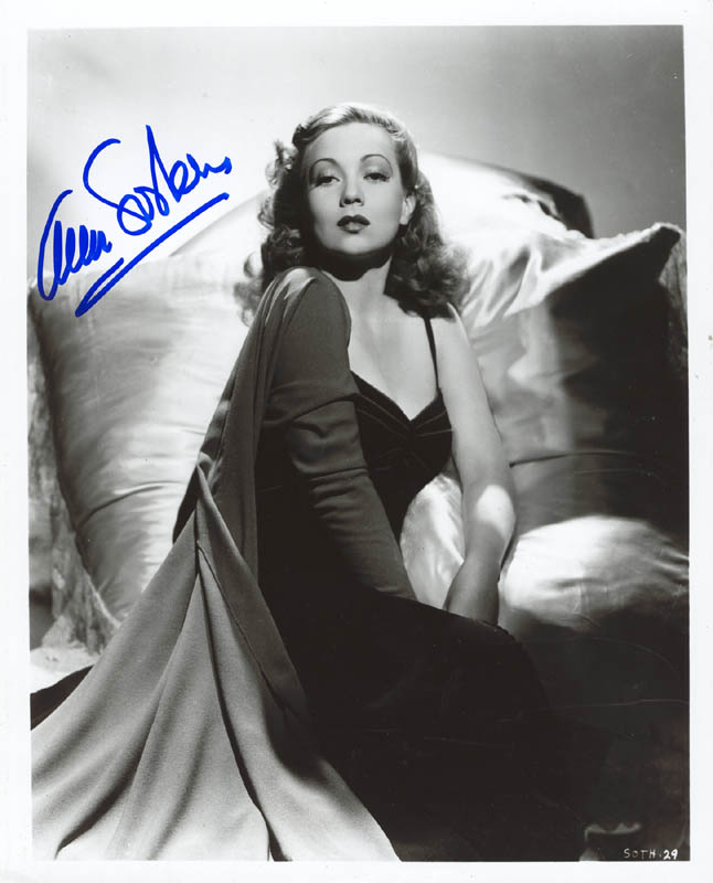 Image 1 for Ann Sothern - Autographed Signed Photograph - HFSID 269522