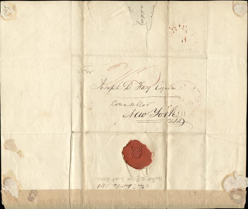 Image 4 for John Howard Payne - Autograph Letter Signed 09/29/1818 - HFSID 269533