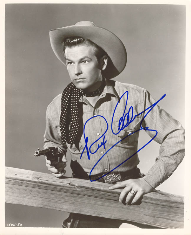 Image 1 for Rex Allen - Autographed Signed Photograph - HFSID 269596