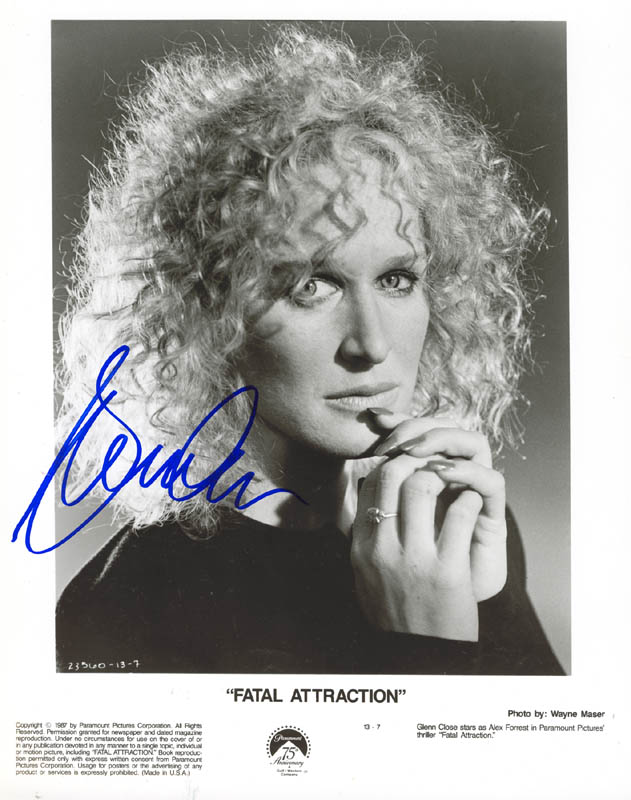 Image 1 for Glenn Close - Autographed Signed Photograph - HFSID 269608