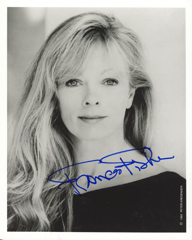 Image 1 for Frances Fisher - Autographed Signed Photograph - HFSID 269614