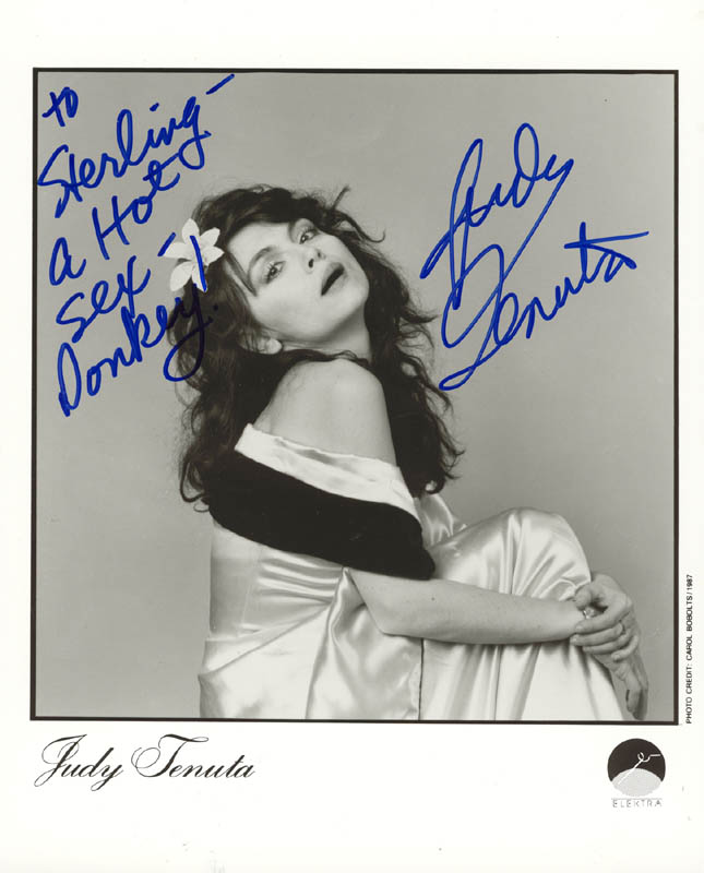 Image 1 for Judy Tenuta - Autographed Inscribed Photograph - HFSID 269633