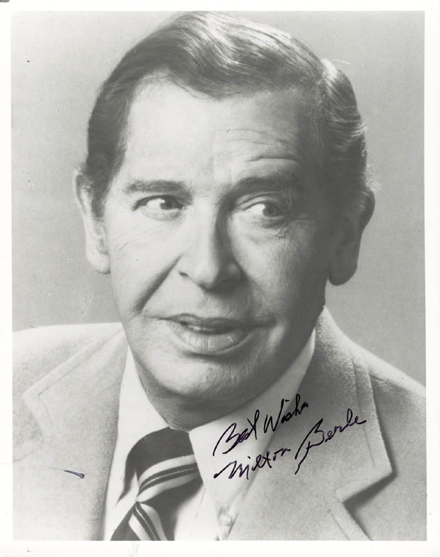 Image 1 for Milton Berle - Autographed Signed Photograph - HFSID 269648