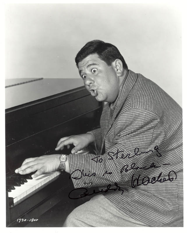 Image 1 for Buddy Hackett - Autographed Inscribed Photograph - HFSID 269656