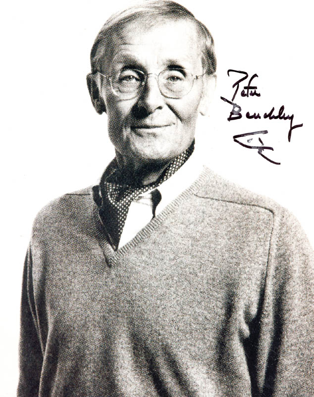Image 1 for Peter Benchley - Autographed Signed Photograph - HFSID 269665