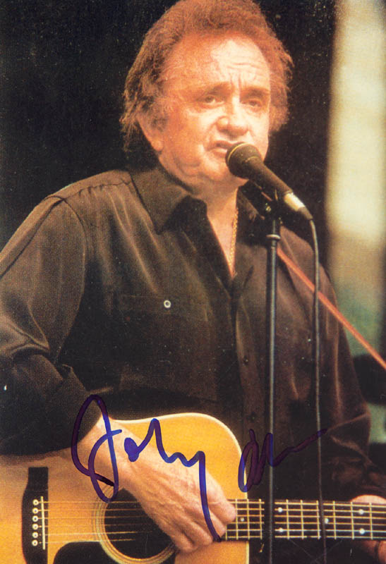 Image 1 for Johnny Cash - Autographed Signed Photograph - HFSID 269682