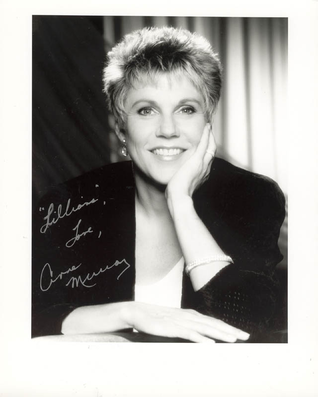 Image 1 for Anne Murray - Autographed Inscribed Photograph - HFSID 269707
