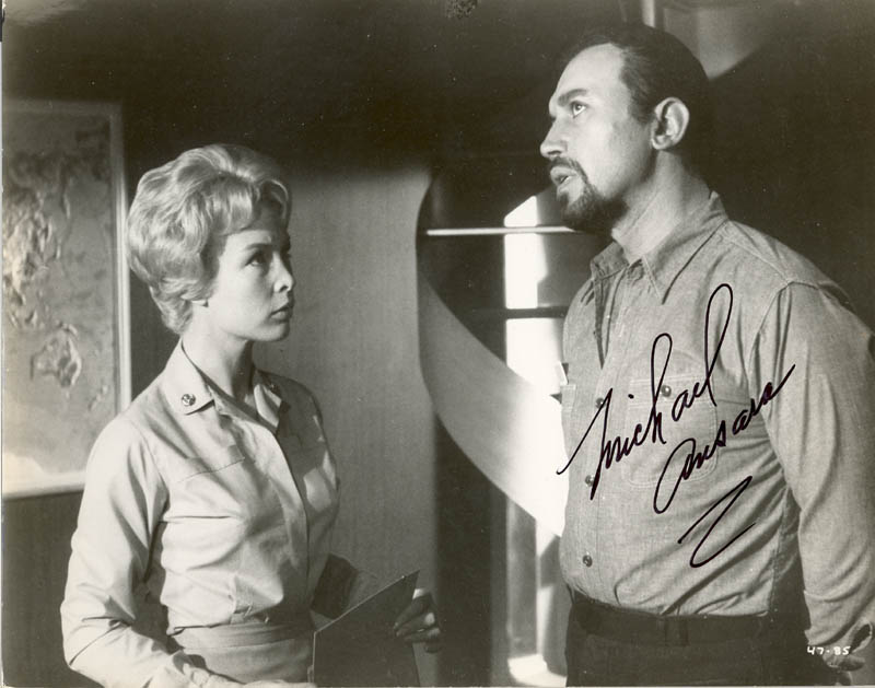 Image 1 for Michael Ansara - Autographed Signed Photograph - HFSID 269725