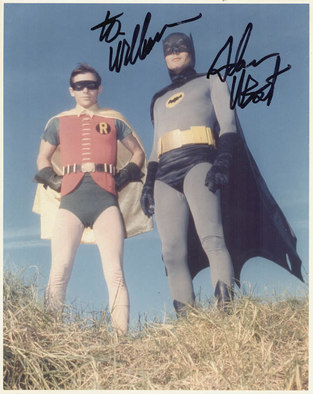 Image 1 for Adam West - Autographed Inscribed Photograph - HFSID 269753