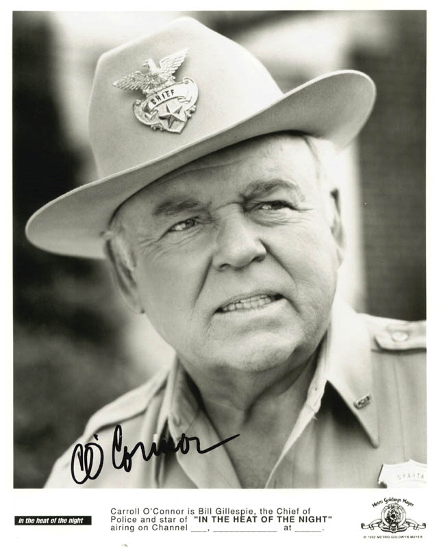 Image 1 for Carroll O'Connor - Autographed Signed Photograph - HFSID 269780