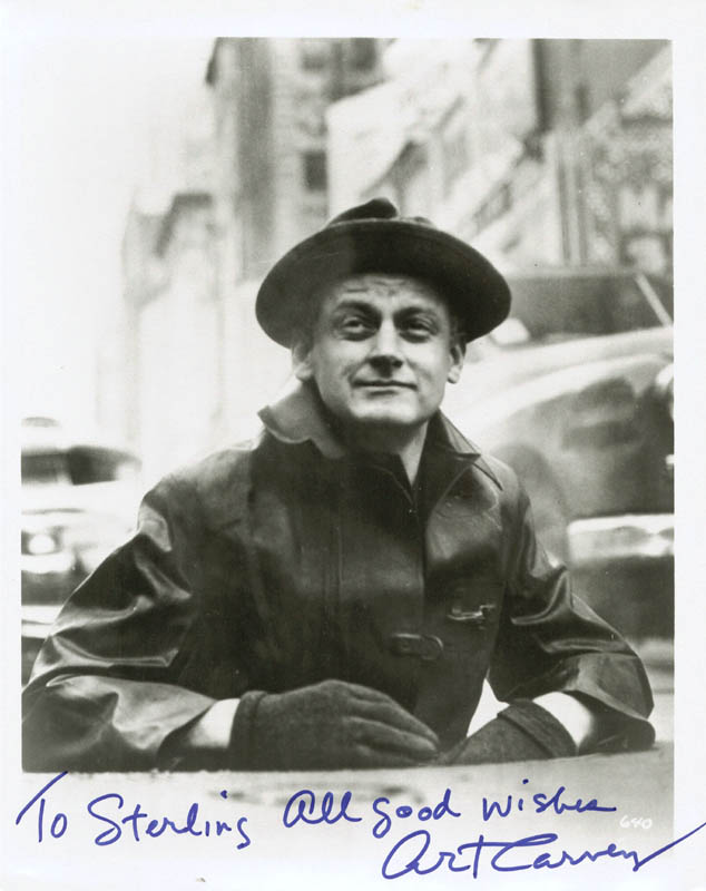 Image 1 for Art Carney - Autographed Inscribed Photograph - HFSID 269784