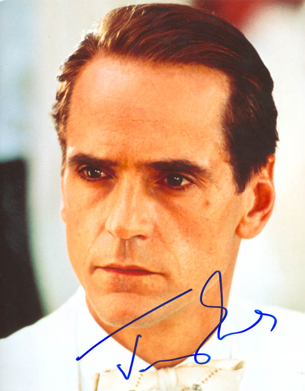 Image 1 for Jeremy Irons - Autographed Signed Photograph - HFSID 269800