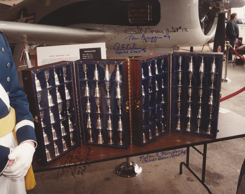 Image 1 for Doolittle Raiders - Autographed Signed Photograph Circa 1995 with co-signers - HFSID 269871