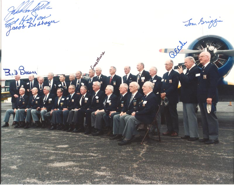 Image 1 for Doolittle Raiders - Autographed Signed Photograph with co-signers - HFSID 269872
